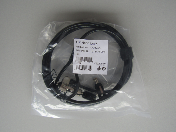 HP Nano Lock |  Kombinations-Kabelsperre