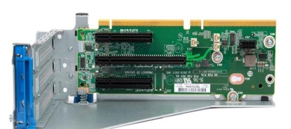 HP Enterprise x8/x16/x8 Riser Kit - Riser Card - für ProLiant DL380 Gen10