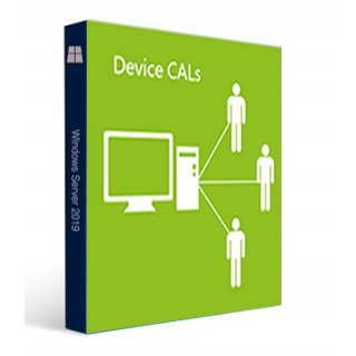 HPE Microsoft Windows Server 2019 Lizenz 10 Device CAL