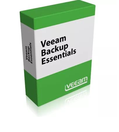 Veeam Essentials Wartungsverlängerung 1 Jahr (Backup Essentials Plus)