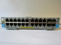 HP 20-port 10/100/1000 PoE+ / 4-port Mini-GBIC zl Module