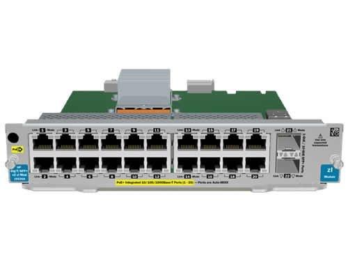 HPE 20-port Gig-T PoE+ / 2-port SFP+ v2 zl Module