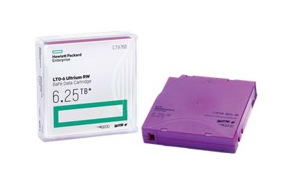 HPE LTO-6 Ultrium 6.25TB BaFe RW Data Cartridge
