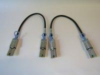 HPE SAS-Kabel extern 2x SFF-8088 Mini-SAS 6 Gbit/s 0,5m