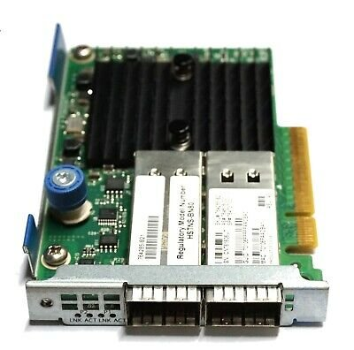 HPE InfiniBand FDR/Ethernet 10Gb/40Gb 2-port 544+FLR-QSFP Adapter
